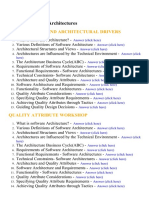 Software Architectures - Lecture Notes, Study Material and Important Questions, Answers