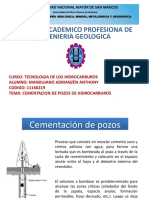 Cementacion en Pozos Petroleros
