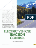 Electric Vehicle Traction Control - A New Mtte Methodology