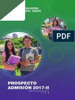 7 Prospecto Admision 2017II