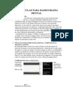 Peliculas Para Radiografia Dental 1