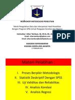 3. Modul SPSS Korelasi Dan Regresi - Akper HKJ