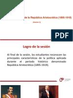 Sesion 2 Aspectos Politicos de La Republica Aristocratica (1)
