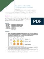 Halogens Practical Report