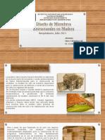 Elementos que conforman el sistema estructural de la madera