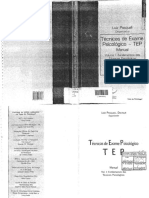 LIVRO - Técnicas de Exame Psicológico - TEP - Manual - Pasquali