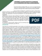 Clasificación de La Obesidad y La Grasa Corporal en El Síndrome Metabólico