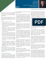 Market Overview September 2010