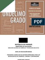 Programas Educacion MEDIA ACADEMICA Gestion Empresarial 11 2014
