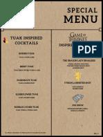 dark brown paper textured background cafe menu