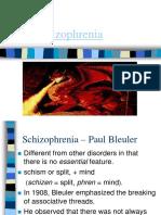 schizophrenia rv