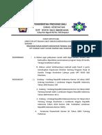 Program Kerja Komite Kesehatan Tenaga Lainnya