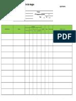 Evaluación de Riesgos Matriz 3x3