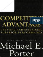 Porter, M. (1985). Competitive advantage creating and sustaining superior performance..pdf