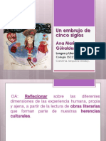 Un Embrujo de Cinco Siglos Ana María Güiraldes