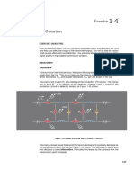 Effect of Attenuation and Distortion in Transmission Line