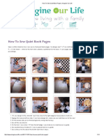 How to Sew Quiet Book Pages _ Imagine Our Life