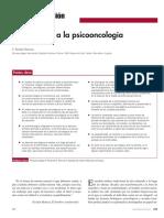 Introducción a La Psicooncología