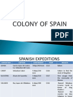 Colony of Spain