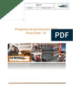 Schlumberger Onel-31 Programa de Perfora