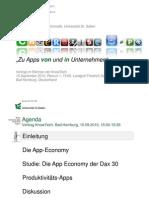 Enterprise Apps - Studie zu Apps von und in Unternehmen