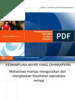 PPT UEU Dasar Dasar Kesehatan Reproduksi Pertemuan 10