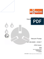 Busch Instruction Manual RA 0025-0100 F ATEX en 0870155907