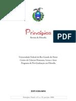 Revista Princípios, Vol. 15, número 23, 2008