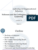 Lecture 10 - Followers and the Contingency Theories of Leadership_2
