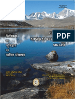 Report Sikkim State Geology and Mineral Maps Geological Survey of India 0