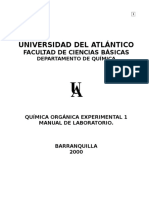 Manual de Laboratorio de Quimica Organica 1