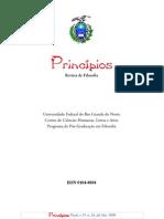 Revista Princípios, Vol. 15, número 24, 2008