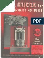 RCA-Transmitting-Tubes-1942-Tutta La Serie RF Con Sch