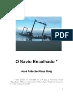O NAVIO ENCALHADO