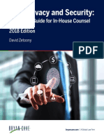 Data Privacy and Security_ a Practical Guide for in-House Counsel (2018) - Iapp Org