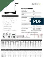 BatterX Lead Carbon LC1500