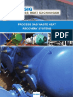 BPHE Process Gas Waste Heat Recovery System E