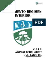 Reglamento Régimen Interior CEIP Alonso Berruguete