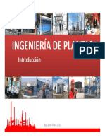 ingeniería de planta introduccion
