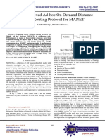 Energy Improved Ad-hoc On Demand Distance Vector Routing Protocol for MANET