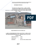 Escalera - Aa-hh Javier Perez de Cuellar II Etapa