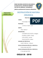 03 Destrucción de Materia Orgánica