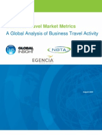 Business Travel Market Metrics a Global Analysis of Business 3710