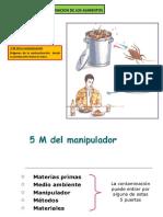 Origenes de La Contaminacion de Los Alimentos