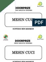 Door Prize final destination