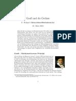 Gauß Und Die Geodäsie_Fabian Dehnert