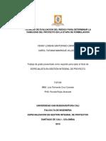 Tecnicas Evaluacion Riesgo Santofimio 2015