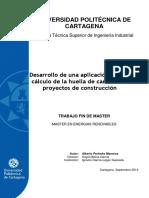 Desarrollo de una aplicación para el cálculo de la huella de carbono en proyectos de construcción