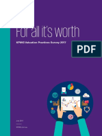 Valuation Practices Survey 2017