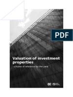 Valuation of investment properties